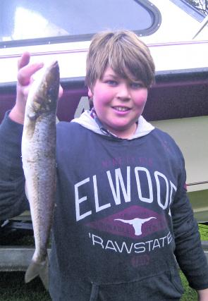 Taj Lyttle caught this 43cm whopper whiting which are the his biggest so far.