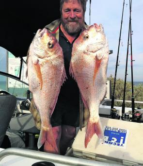 The snapper will move into Port Phillip Bay to put on condition before they spawn later in the season.