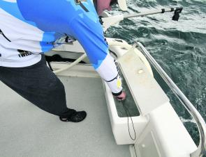 A functional live-bait well will ensure your livies are in a good condition all day.