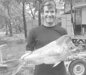 Why wouldn't you be happy with this 7kg snapper, taken near Seal Rocks by Robert Moss, who was visiting his brother at Seals. That's one ugly head – on the snapper
