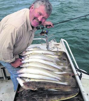 It's been yet another solid month for Magnet Fishing Charters with some hot action on the whiting grounds at Werribee South, Kirks Point and Wilson Spit.