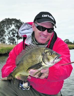 While traditional live baits, including live sand or tube worm and Bass yabbies, provide consistent results on the Werribee River bream year round, small diving minnows are also still worth a shot before the fish bunker down over the cooler months.