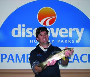 Champion angler was Shawn Laurence, who managed five out of the seven species.