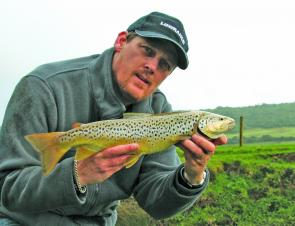 Good spring rains have had the trout out and about in the Otways.