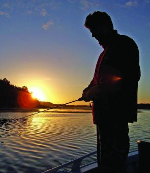 As the sun goes down, it's time to think about pulling out a luminous lure.