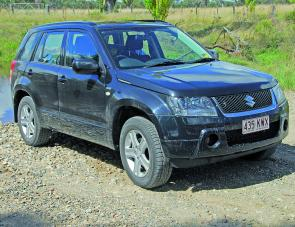 The five door Grand Vitara diesel has been earning it's keep on a country run.