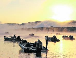 Clean cool days dominated the weather at the 2nd stop of the Toray BASS Pro Tour.