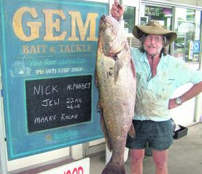The cooler water temps should fire up the mulloway this season.