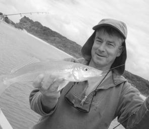 Whiting like this have graced local estuaries and beaches this season.