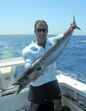 There will be an increasing presence of wahoo throughout February.