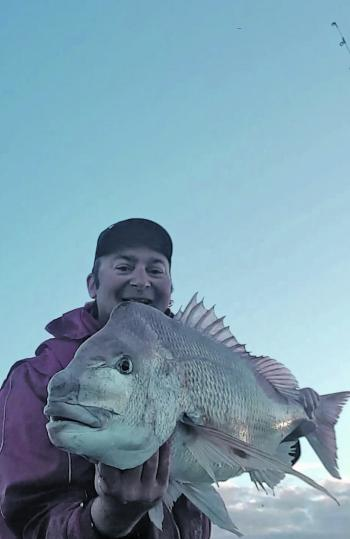 A thumper red – one of Matthew Calleja's great snapper.
