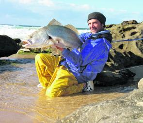 Jew No 2 for Phil – lure fishing at its best.