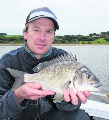 Good bream have been on the bite in the lower regions of the Hopkins.