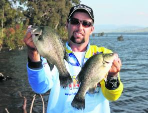 The author with a couple of his 35-fish bag from the 2011 Lake Hume Classic. The annual event on November 10 and 11 is a family-friendly tournament with loads of prizes for all ages.