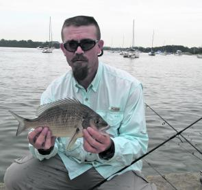 Bream are scavengers and will eat almost everything but in discoloured water smelly baits work best.