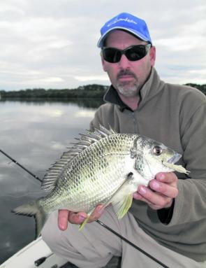 If you want to work for the bigger bream in the lake you will need some patience over the cold months.