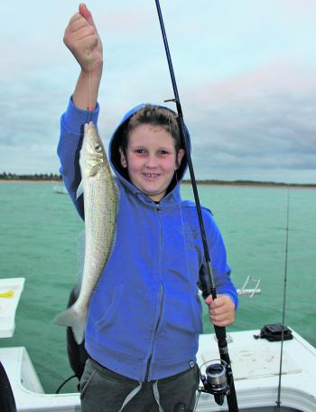 Solid king George whiting are a popular December target.