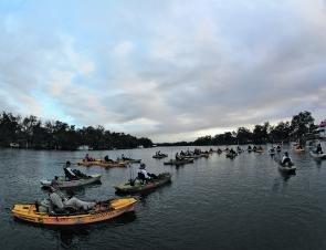 The 2014 Hobie Bream Grand Final saw 48 anglers hit the water, all wanting to take out this year's trophy.
