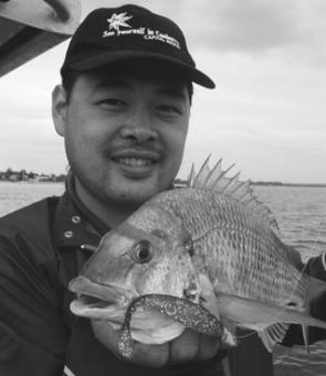 This great bream ate a soft plastic aimed at flathead – another example of never knowing exactly what you're going to catch next.