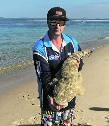 Big flathead are becoming more active as we move into the cooler months.