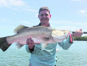 Big barra are the big draw card in February.