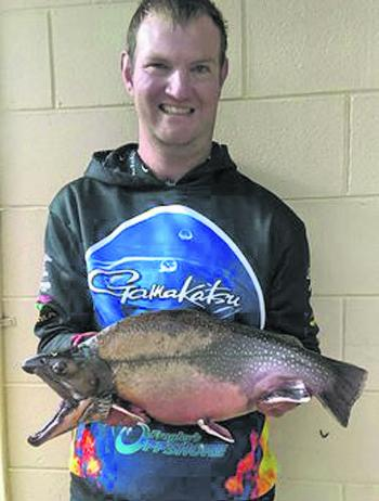 Byron Boehm nailed this really chunky brook trout.