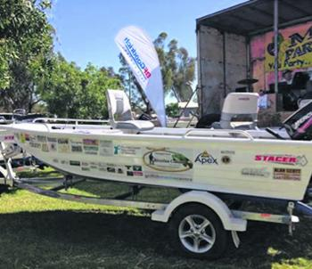 Included in the prize pool is a $10,000 flight centre holiday voucher, a Stacer 399 Proline Angler running 30hp mercs – complete with trailer, and a cash prize for the best represented fishing club in attendance over the weekend!