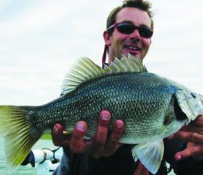 Chris Searle with a ripping Bullen Merri bass.