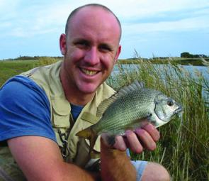 Bream are commonly caught in most southwest estuaries over Easter.