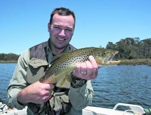 Brown trout are found pretty much everywhere and fall to any method.