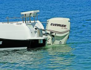 Powered by a direct injection 150 E-tec the Evolution was a nimble and easily managed craft.