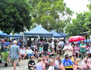 Almost 1500 people register for the event, swelling Burrum Heads population.
