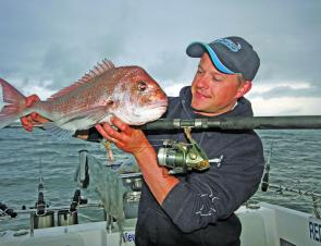 Reels like the bait runner or 4000 series spin reels are ideal when snapper fishing in Port Phillip Bay.