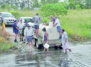 More than 1600 bass were tagged and released as part of a research project at Lake Samsonvale.