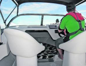 The Allrounder's seat boxes offer additional aft storage and are a welcomed feature by anglers and family alike.