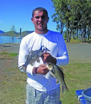 Josh had a challenging Bass Bounty Challenge but still managed a few good fish.