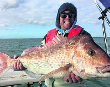Jarrad Kennard and his 9kg Lysaughts red.