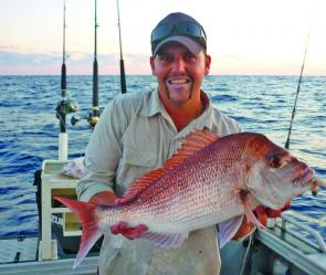 Snapper are still a possibility at this time of year.