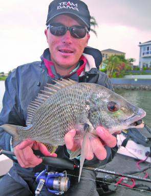 Bream like this are an option in November and can be found in a host of likely spots.