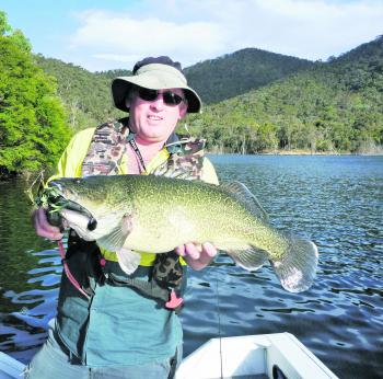 The author with a standard Murray cod from this part of the world!
