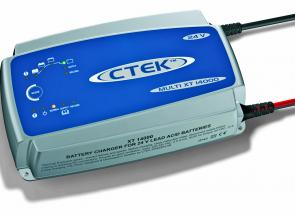 The CTEK Multi XT 14000 (24V) is a compact unit that can handle a heavy workload.