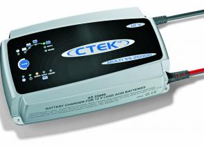 The CTEK Multi XS 25000 (12V) is particularly built for rapid charging.