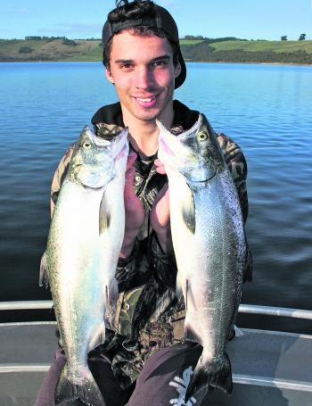 The days of 10kg+ Chinook salmon are gone, but who knows… maybe they will come back in future years.