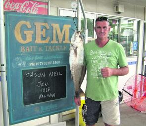 There will be lots of school mulloway caught this month.