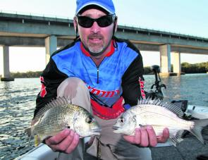 It may not be the most efficient way to catch bream but it is certainly the most fun.