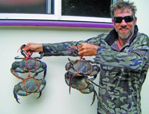 Caboolture River has been producing some good quality mud crabs.