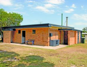 Well kept amenities are an important feature of the Clarence Head Camp Grounds visitor.