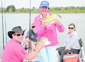 Fish the shallows in the lower Bega River this month for plenty of bream.