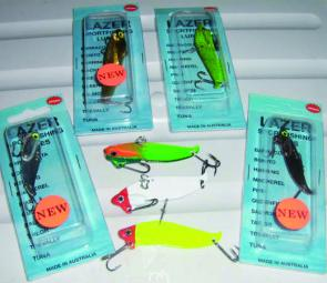 The range of Lazer Vibe lures has been fantastic of late on the local fish.