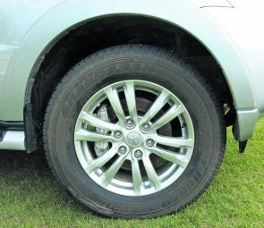 This year the goodies start at ground level with new mag wheels adding bling.